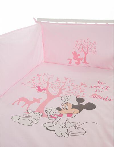 Edredão e Resguardo Minnie Colchão 118x58 Disney