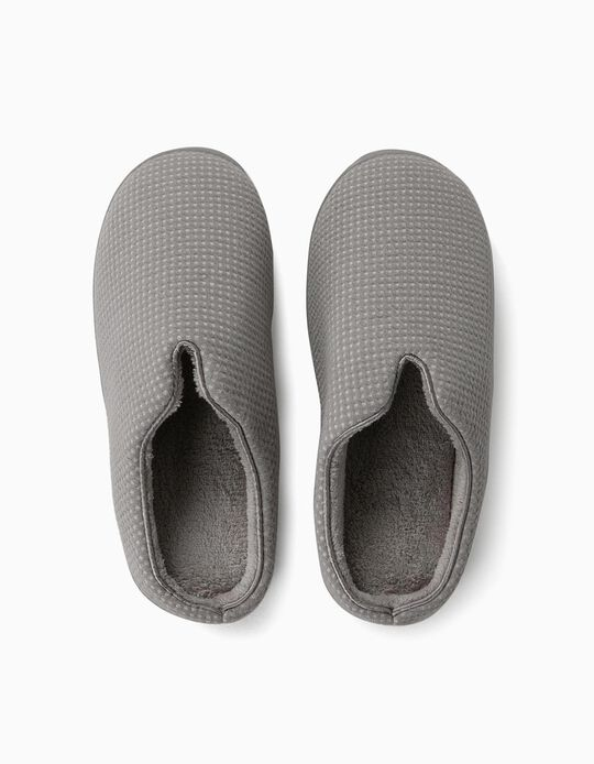 Speckled bedroom slippers