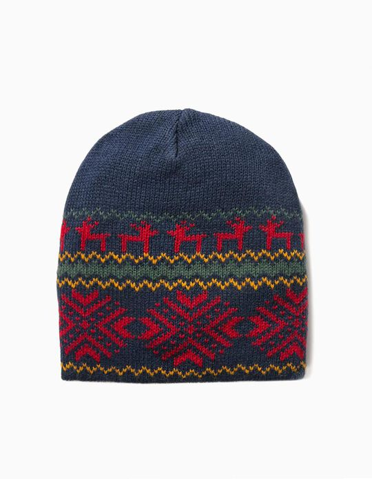 Knitted Christmas Beanie