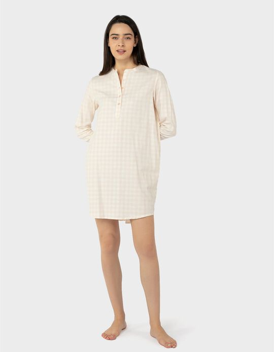 Nightie with Buttons, for Women