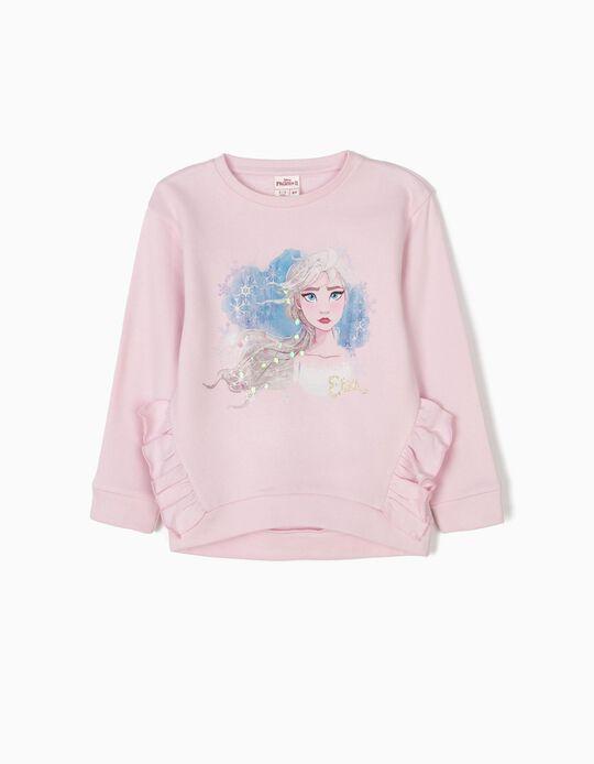Sweatshirt Elsa Frozen II Rosa