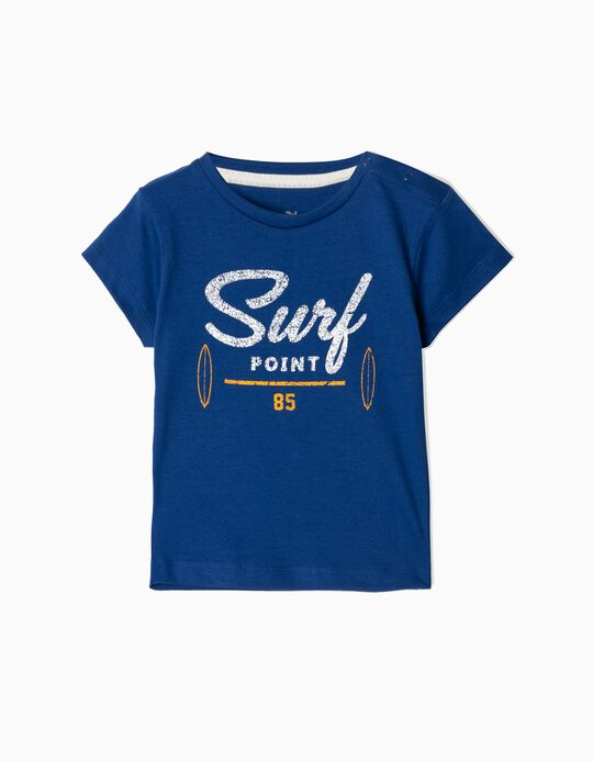 T-shirt for Baby Boys 'Surf Point', Blue