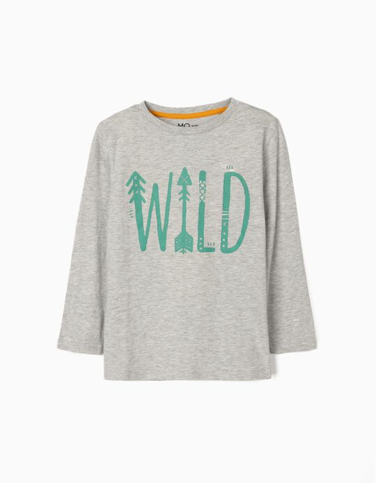 Long Sleeve Top, 'Wild'