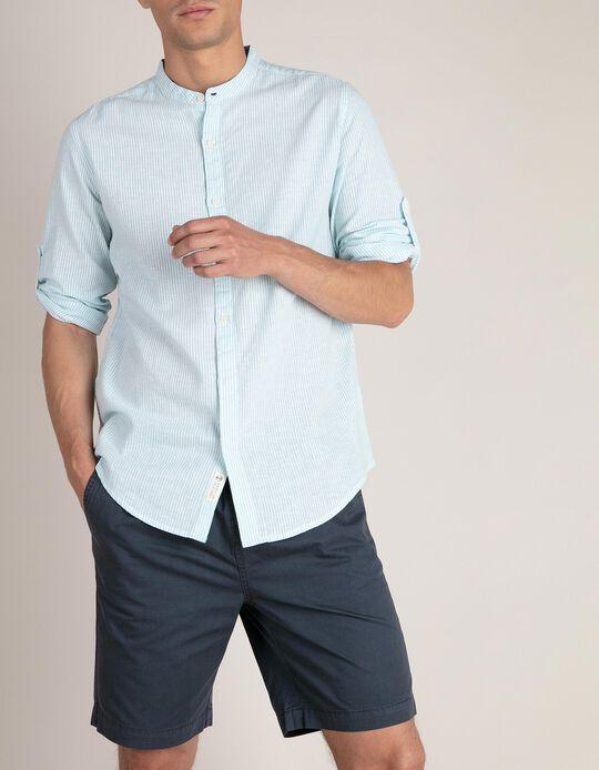 Camisa Regular Fit Linho
