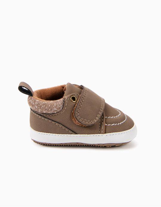 Sapatos Pre-Walker Camel