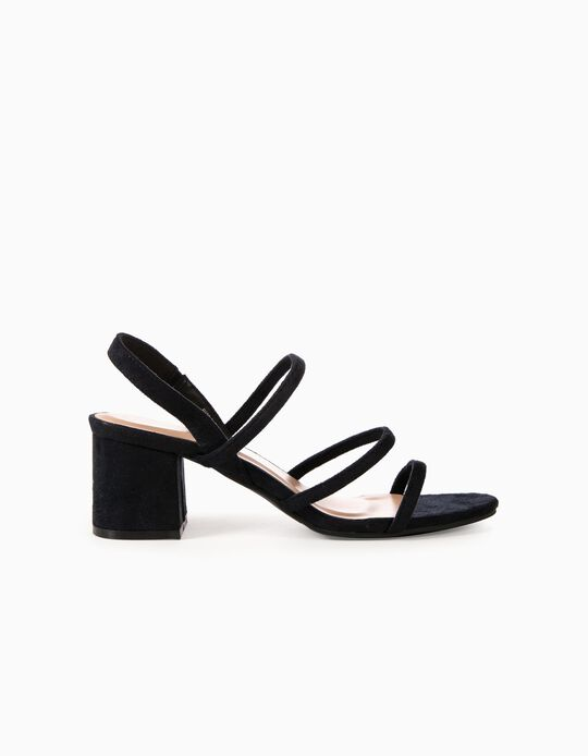 Strappy Sandals with Heel