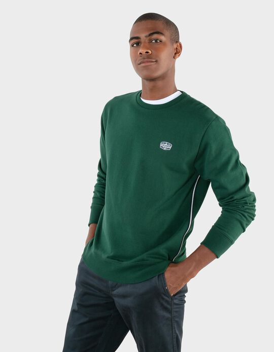 Carded Sweatshirt, Ocean Expedition