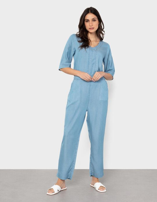 Denim Jumpsuit, for Women