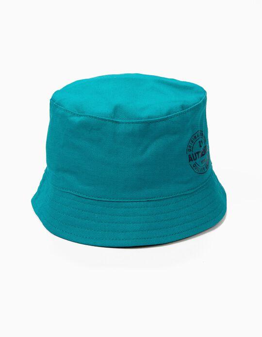 Chapéu para Menino 'ZY 1996', Verde Azulado