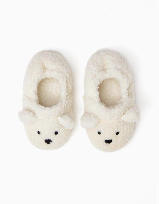 Slippers for Girls 'Sheep', White