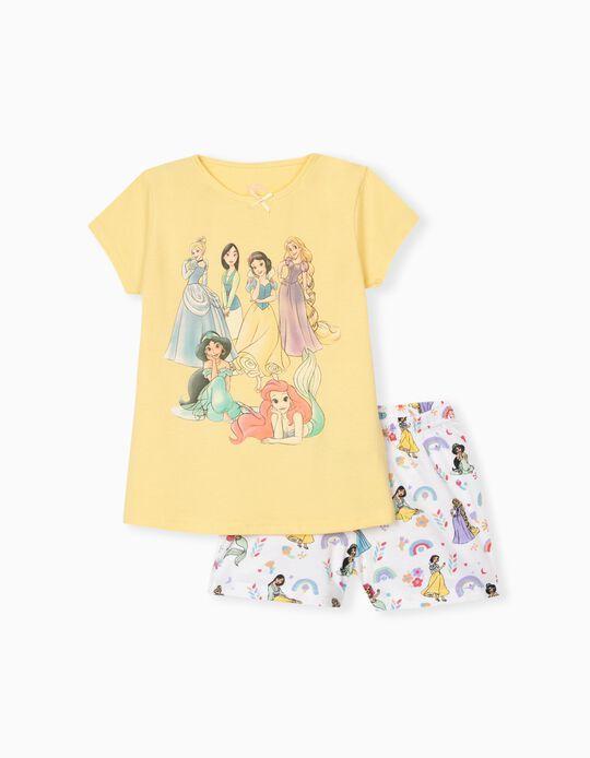 T-shirt e Calções Disney Princess, Menina