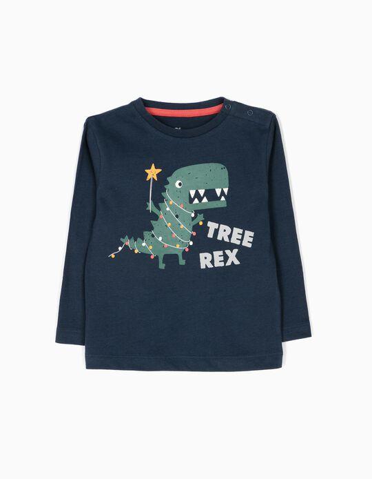 T-shirt Manga Comprida Tree Rex