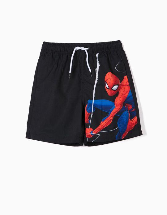 Calções de Banho para Menino 'Spider-Man' Anti-UV 80, Preto