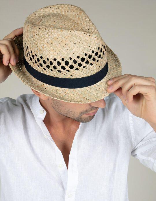 Chapéu em palhinha