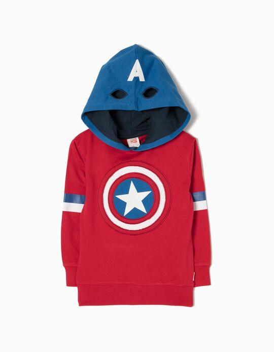 Sweatshirt Capuz Marvel