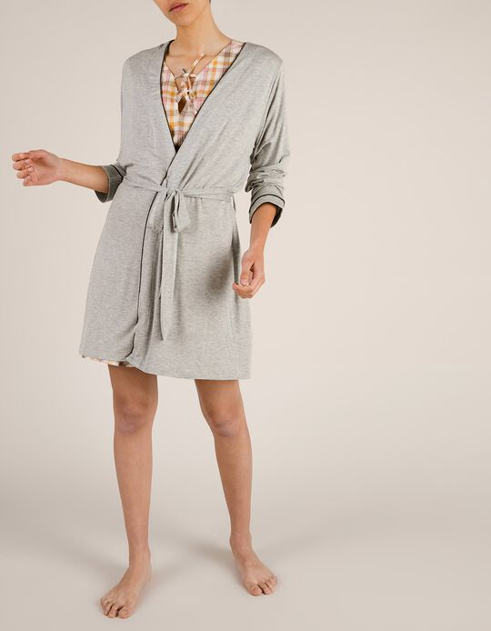 Viscose Dressing Gown
