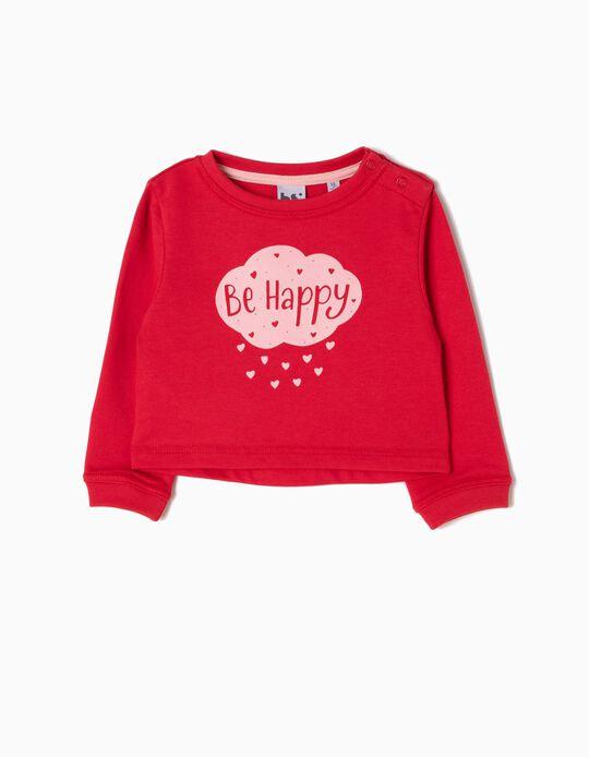 Sweatshirt, Happy