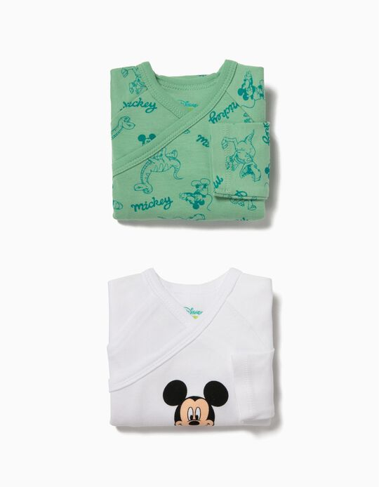 Pack 2 Bodies Manga Comprida Mickey