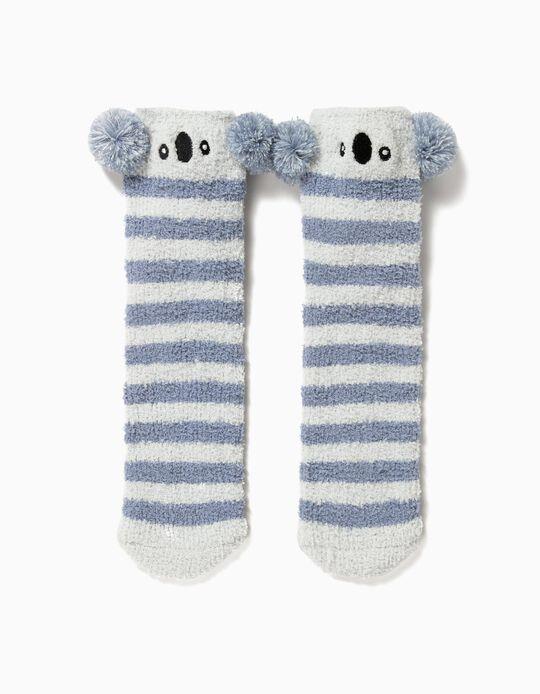 Pack de 2 pares de meias com pompons