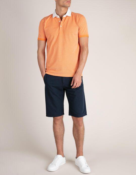 Slim Leg Chino Shorts