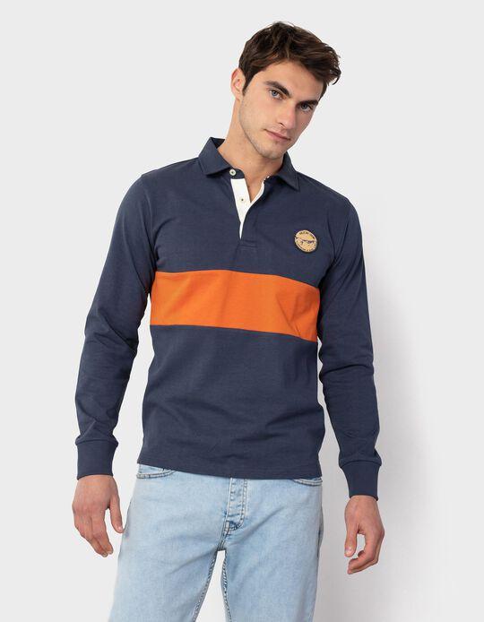 Long Sleeve Polo Shirt, for Men