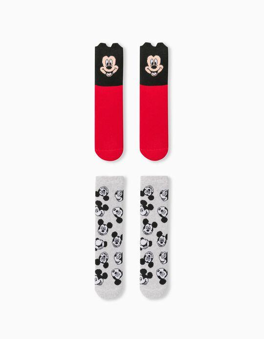 2 Pairs of Non-Slip 'Disney' Socks