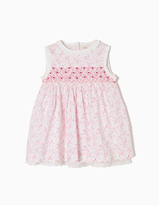 Conjunto Vestido e Calções Rosa
