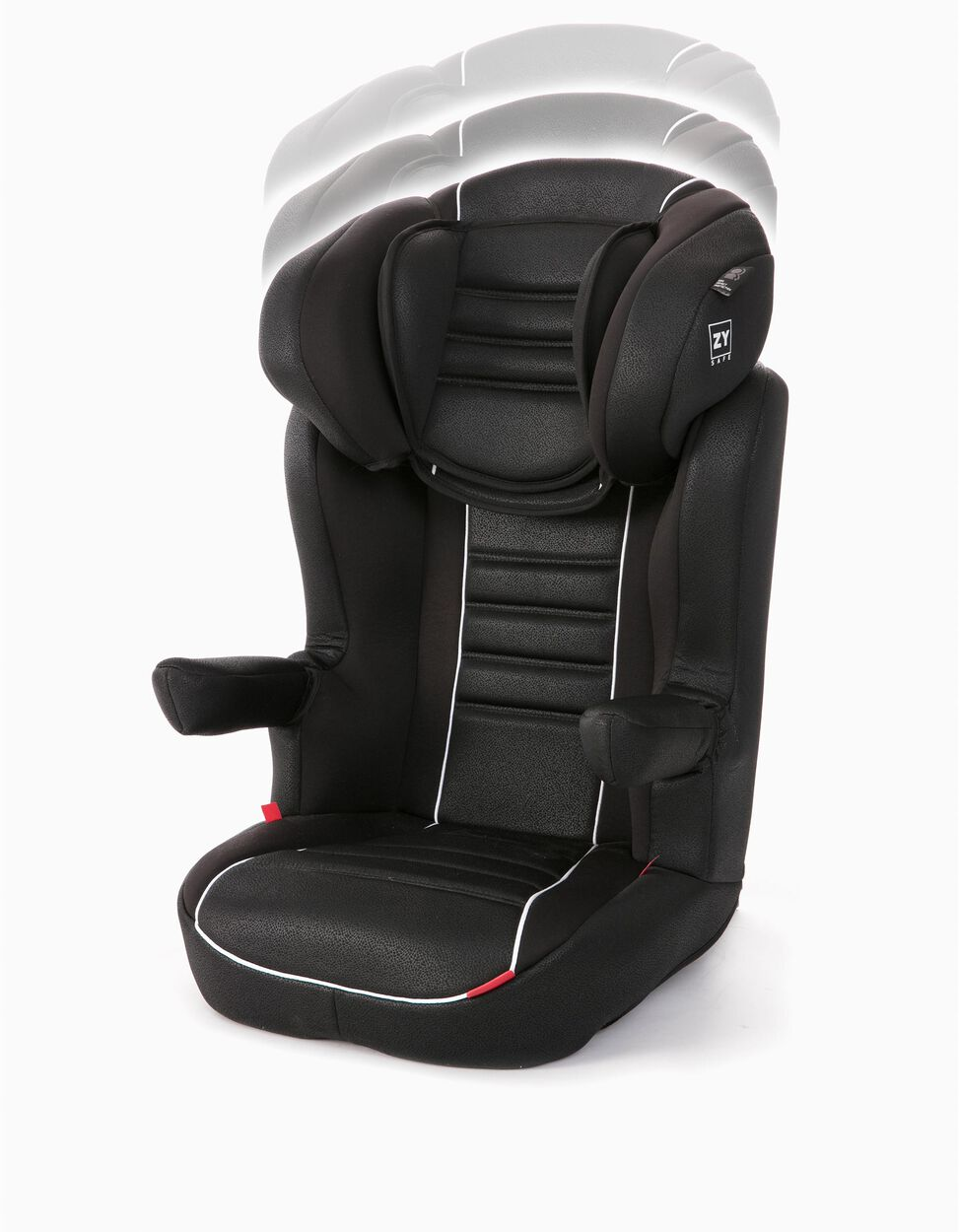 Cadeira Auto Gr 2/3 Isofix Primecare Prestige Zy Safe Black