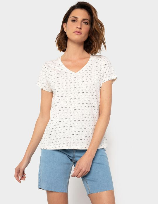 Patterned T-shirt for Women