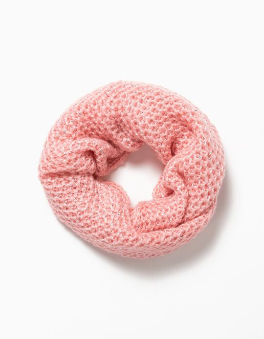 Gola lantejoulas rosa