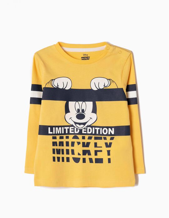 Yellow Long-Sleeved Top, Mickey Limited Edition
