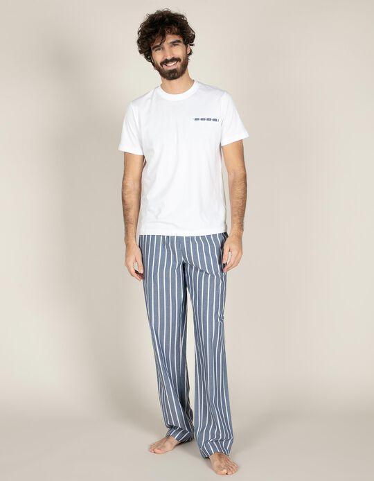 Conjunto de pijama riscas