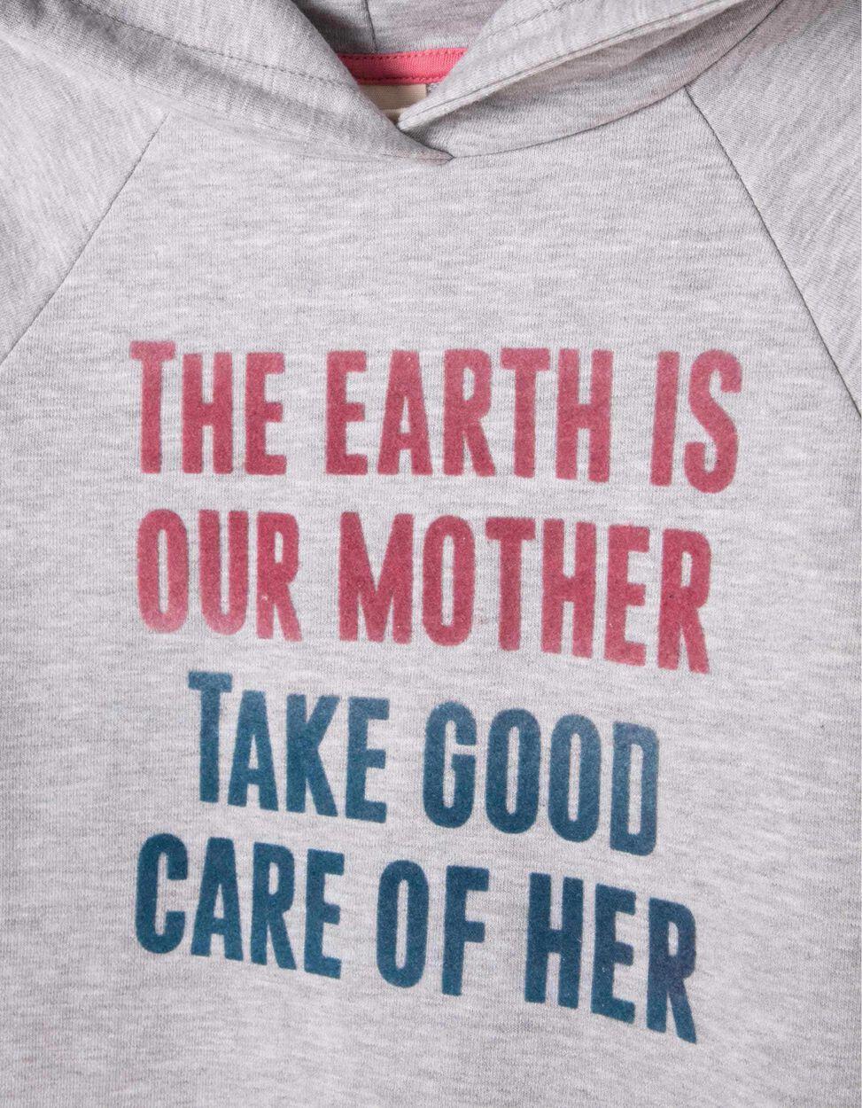 Vestido de Felpa com Capuz Mother Earth