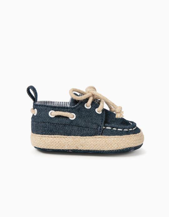 Sapatos para Recém-Nascido, Azul
