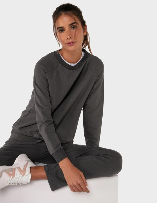 Plain Sweatshirt for Women