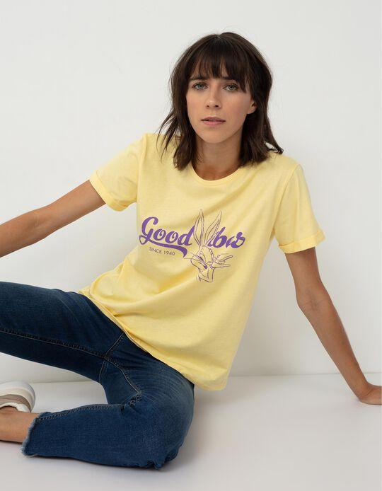 Looney Tunes' T-shirt for Women, Yellow