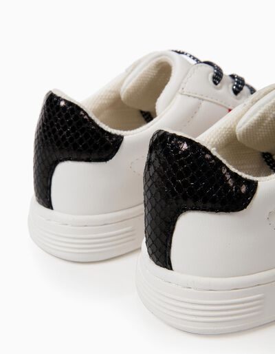 Sapatilhas Brancas com Riscas