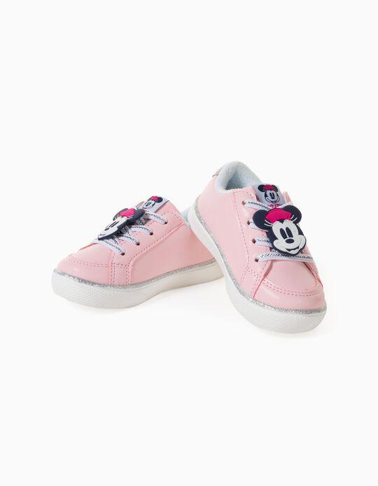 Sapatilhas para Bebé Menina 'Minnie', Rosa Claro