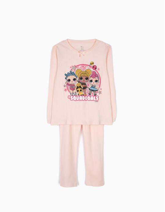 Pijama Manga Comprida e Calças LOL Surprise! Rosa