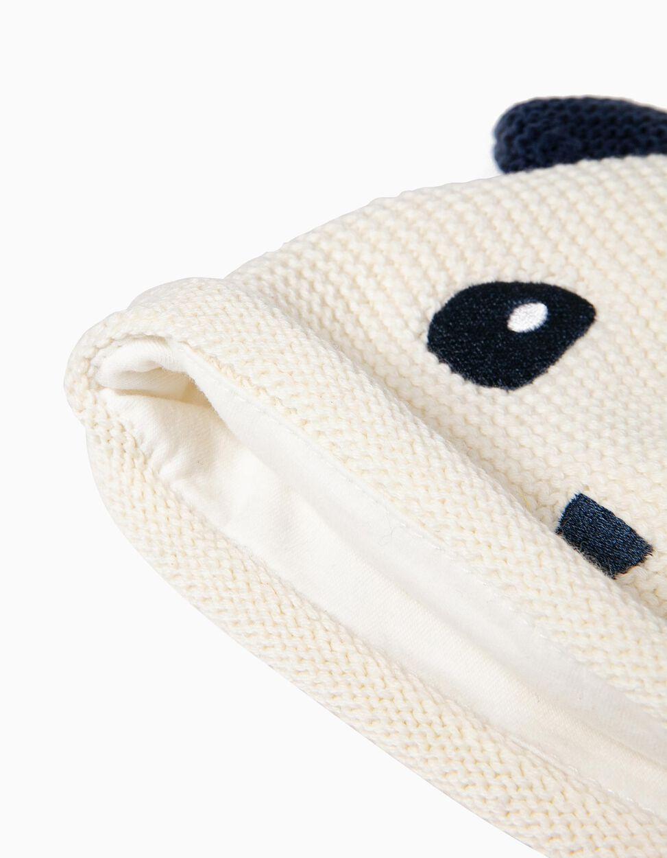 Gorro de Malha Panda