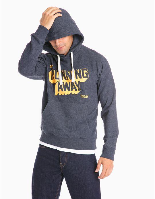 Sweatshirt Running Away