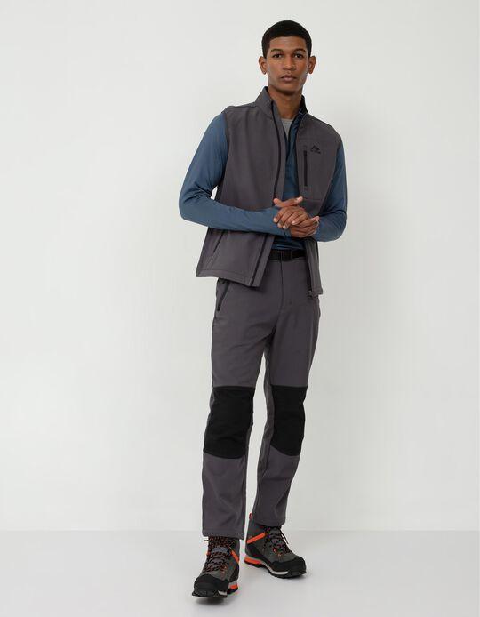 Trekking Techno Trousers, Men, Dark Grey