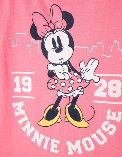 T-shirt Minnie Brooklyn Bridge Branca