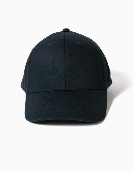 BASIC CANVAS CAP BLA, OFF WHITE2, 58