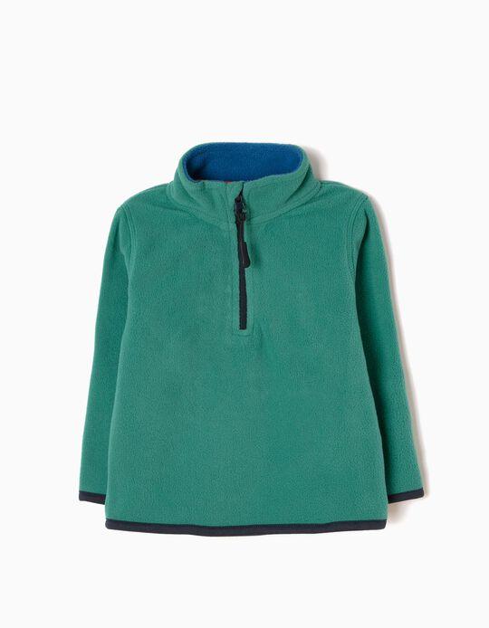Camisola Polar Verde