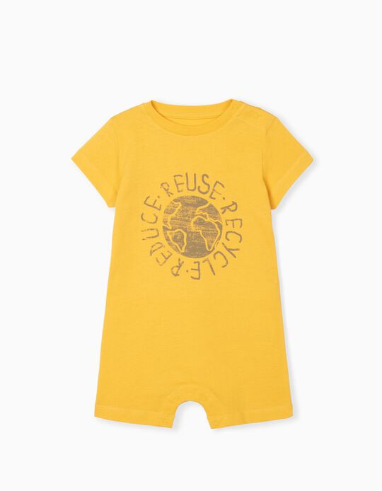 Short Sleeve Bodysuit, Organic Cotton