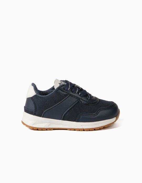 Trainers for Baby Boys, Dark Blue