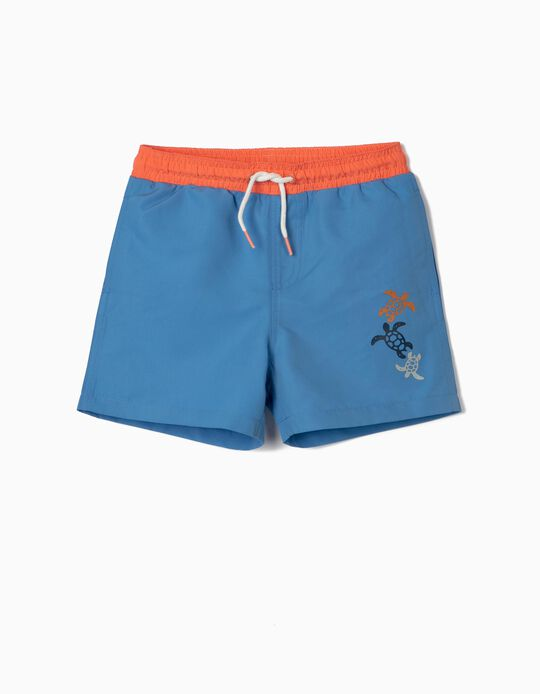 Swim Shorts with Print, for Boys