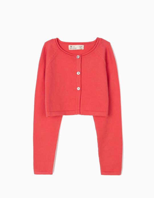 Bolero Jacket for Girls, Pink