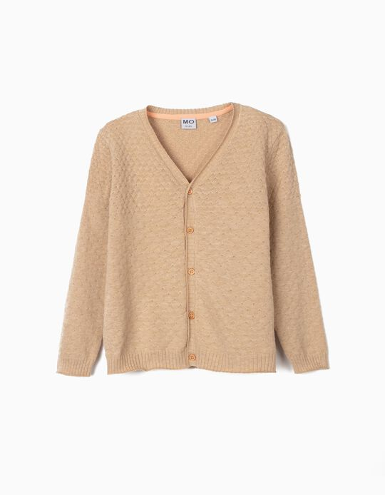 Textured Cardigan for Girls